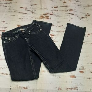 True Religion. Hi-rise boot cut Jean's.